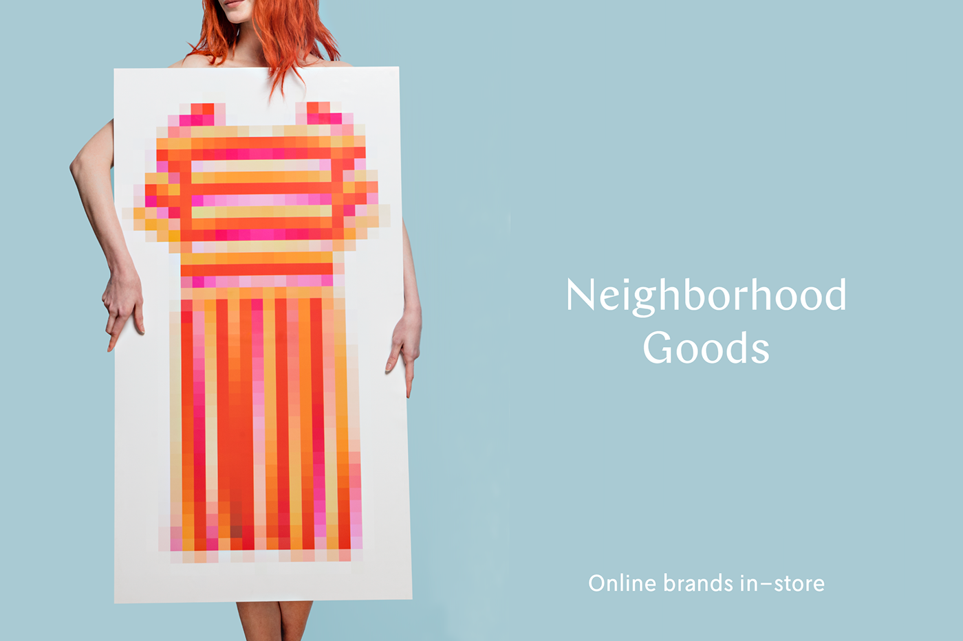 Photography  neighborhood goods online shopping Retail Tractorbeam funny clever Concepting texas