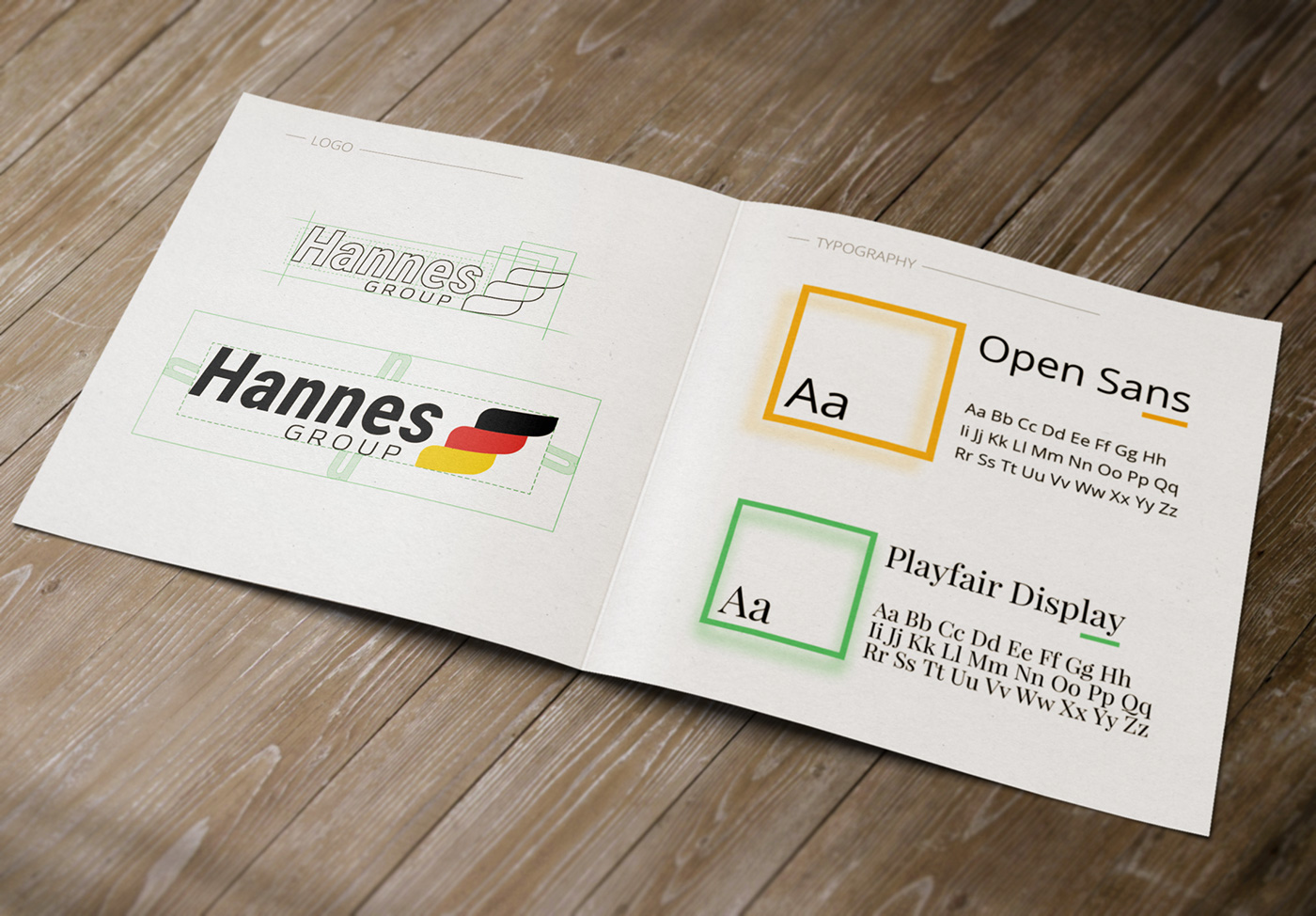 Web presentation hannes group coffee romiani on behance after analyzing colors and shapes we created logos with our own fonts and key colors we also created the rules for their usage in typography and in web reheart Image collections