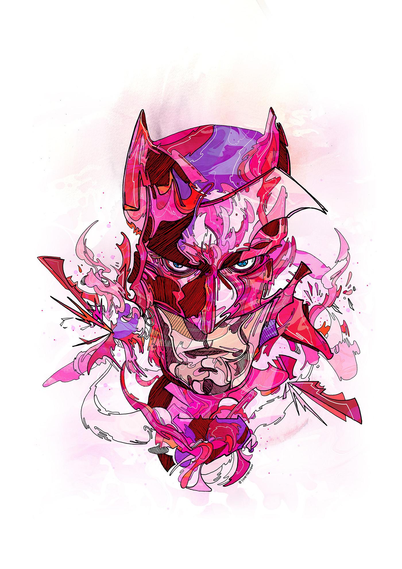 Adobe Portfolio batman superman Ninja Turtles X Men Conor McGregor marvel Dc Comics
