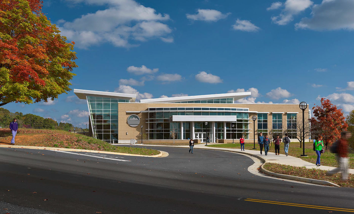 Blue Ridge Community College Student Recreation Center On