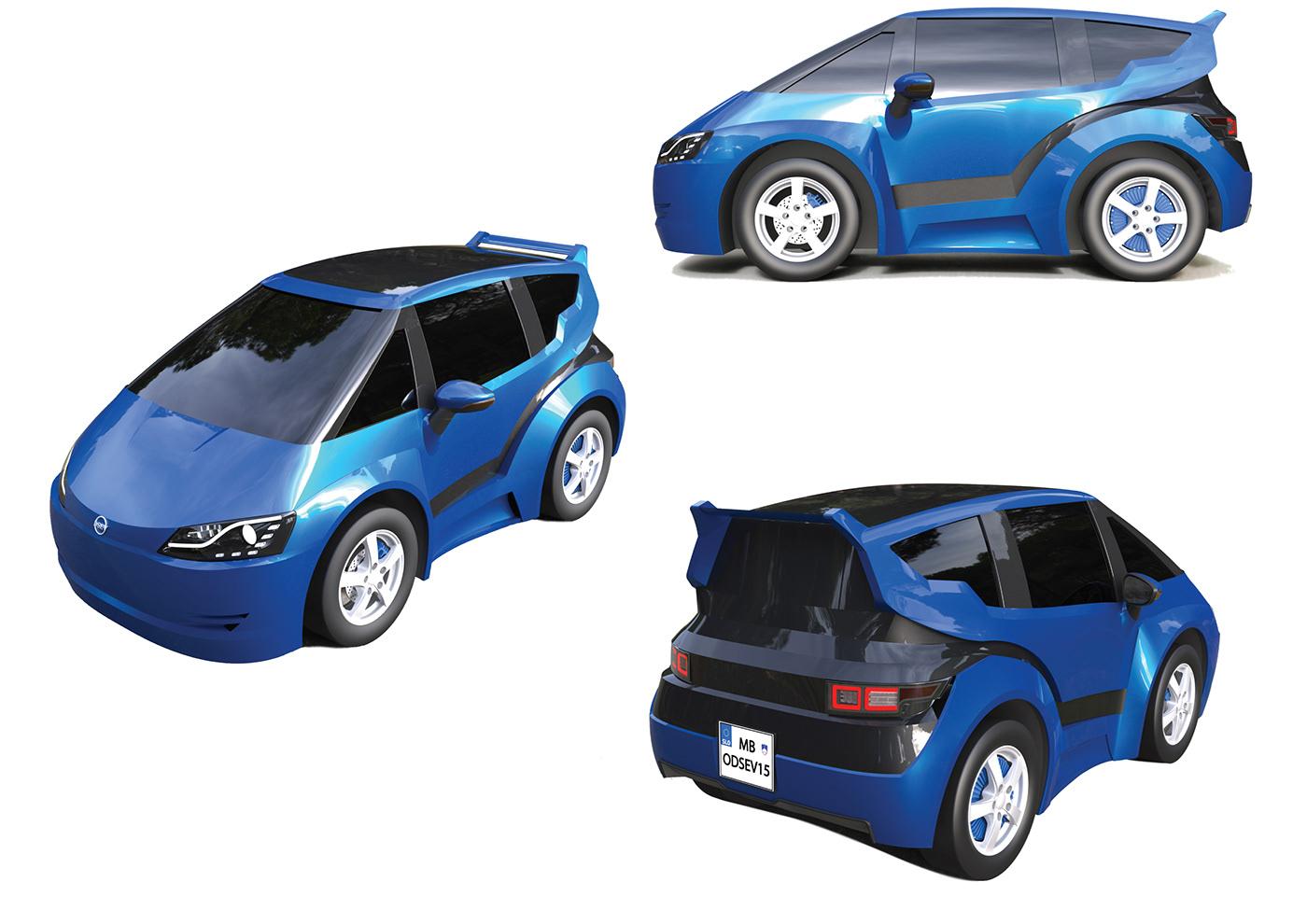 odsev electric ev L7E small electric car