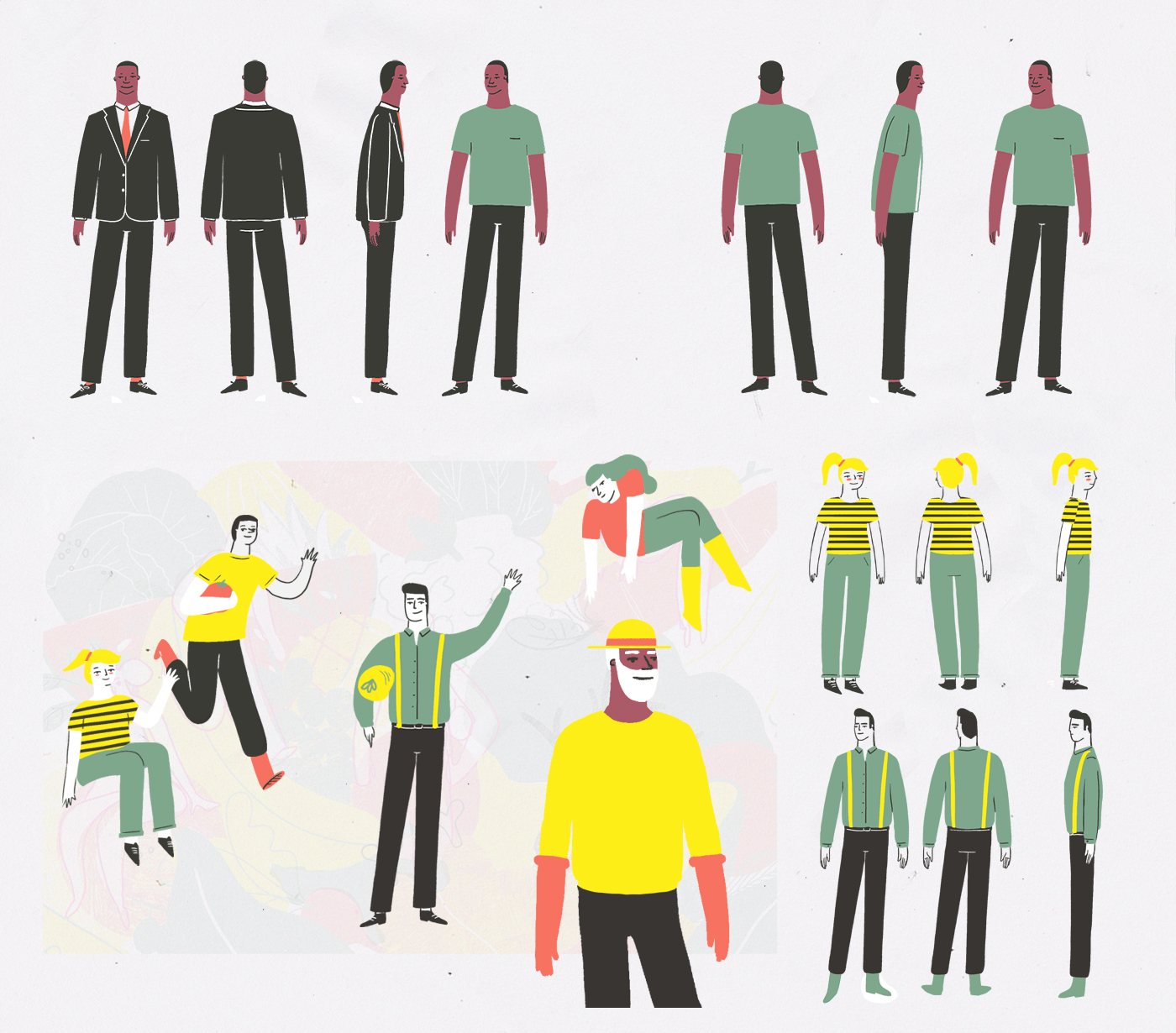 animation ,2D,narrative,Cel Animation,3D,compositing,the altantic,ILLUSTRATION ,inspire