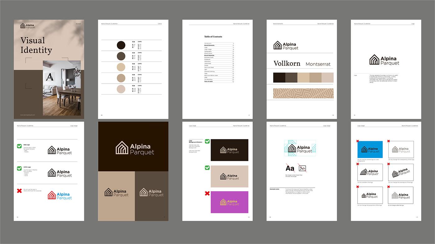 brand identity branding  business business card clean company corporate identity Logo Design pattern