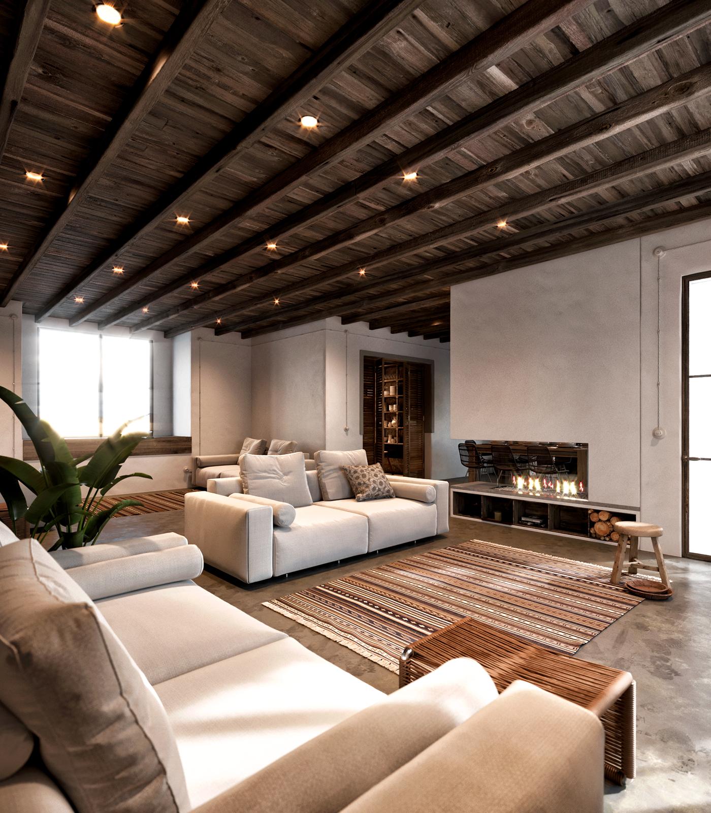 Bellavista house on behance - Interiorismo y decoracion moderna ...