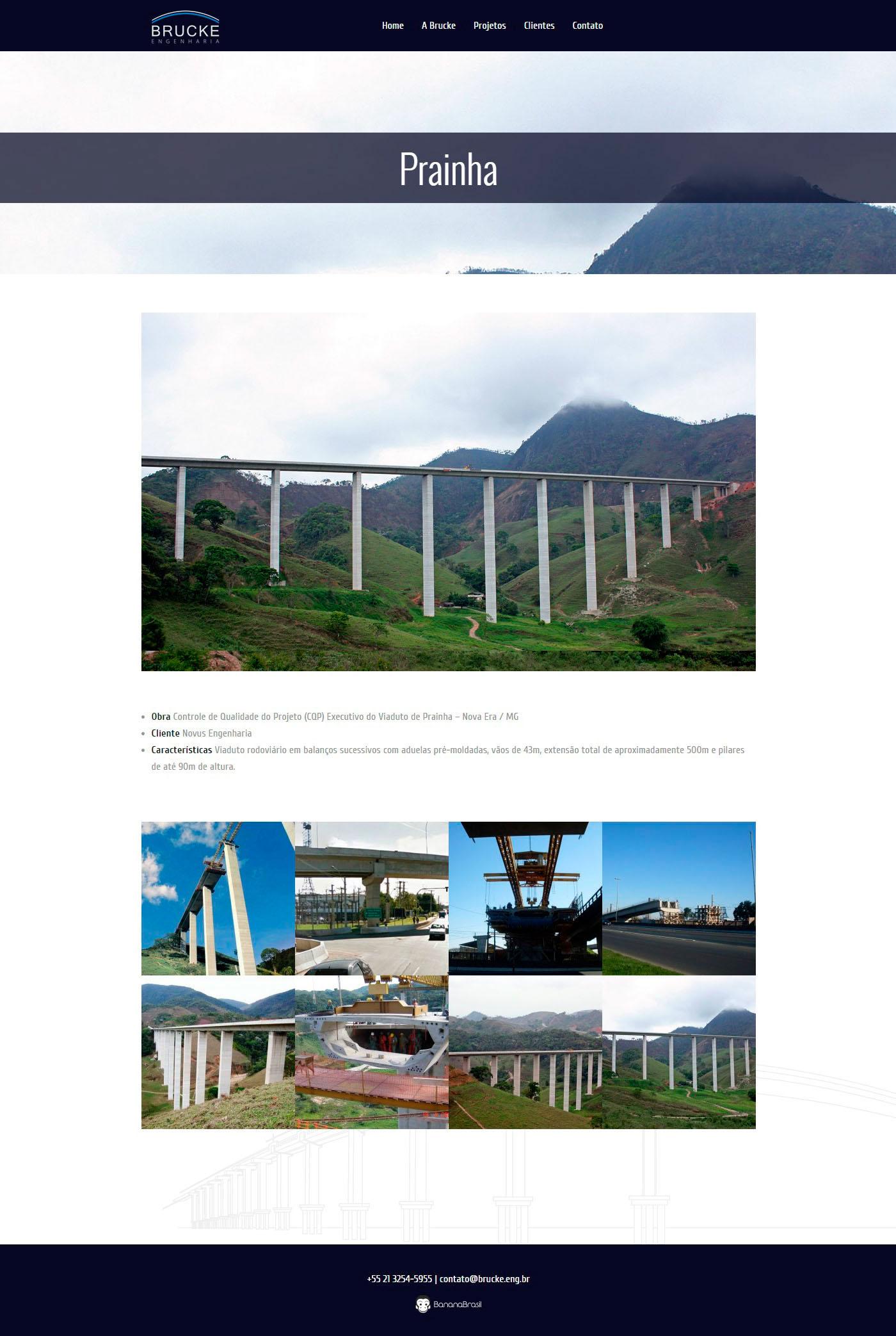 brücke Engenharia pontes Rio de Janeiro