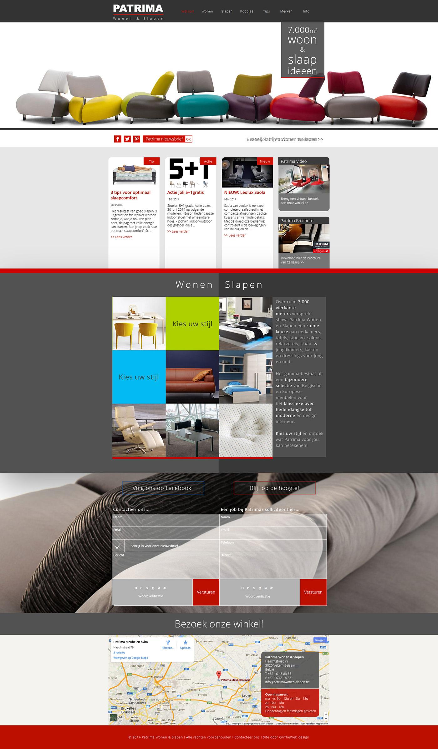3 Design Stoelen.Patrima Wonen Slapen On Behance