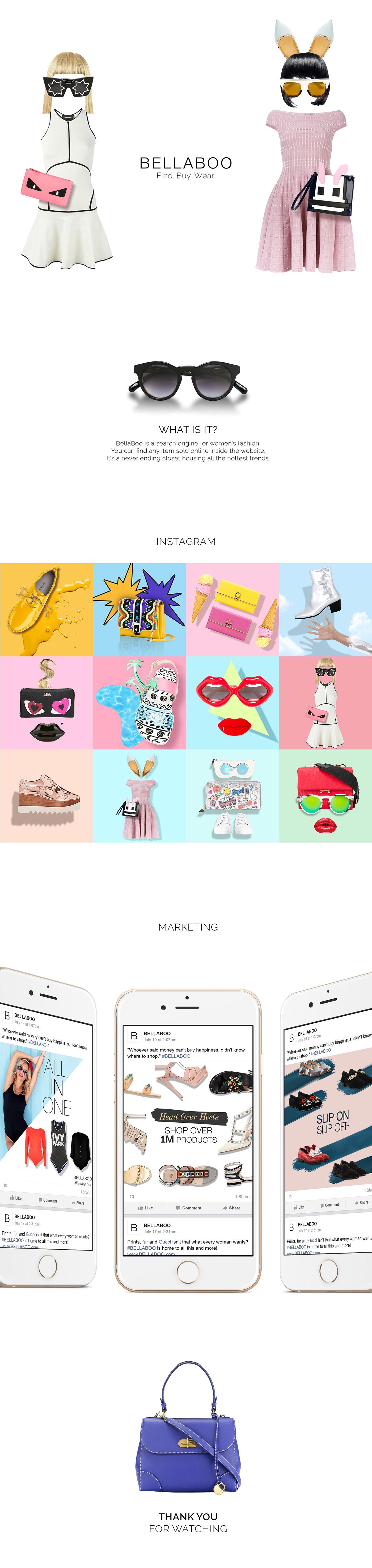 Fashion  branding  Web Design  instagram marketing   UI\UX art direction  girly fashion website