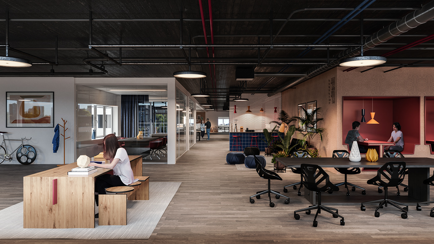 精美的47款辦公室設計欣賞