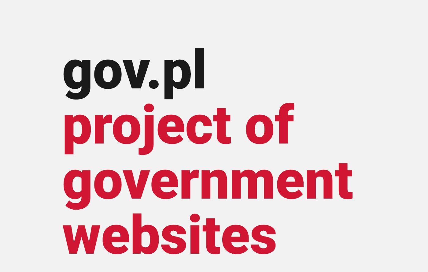www Web web-design polish poland Government institutions