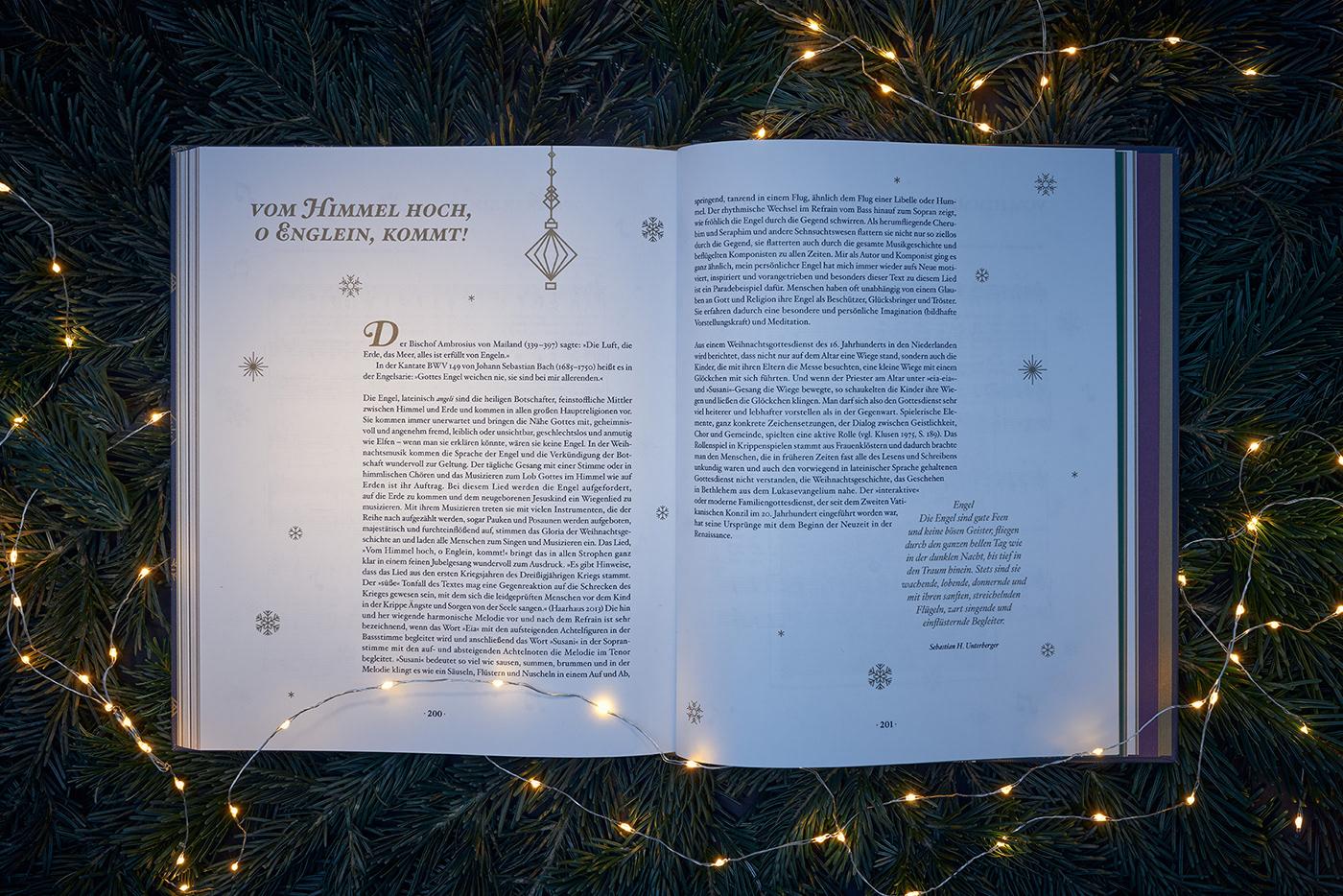 wirsindartisten Bookdesign Christmas christmasbook graphicdesign