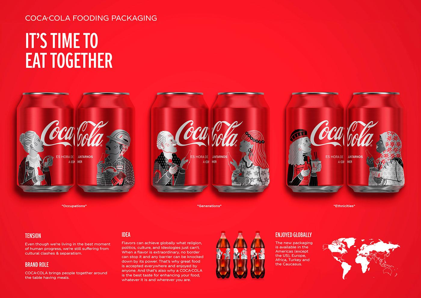 高品質的19套可口可樂包裝欣賞