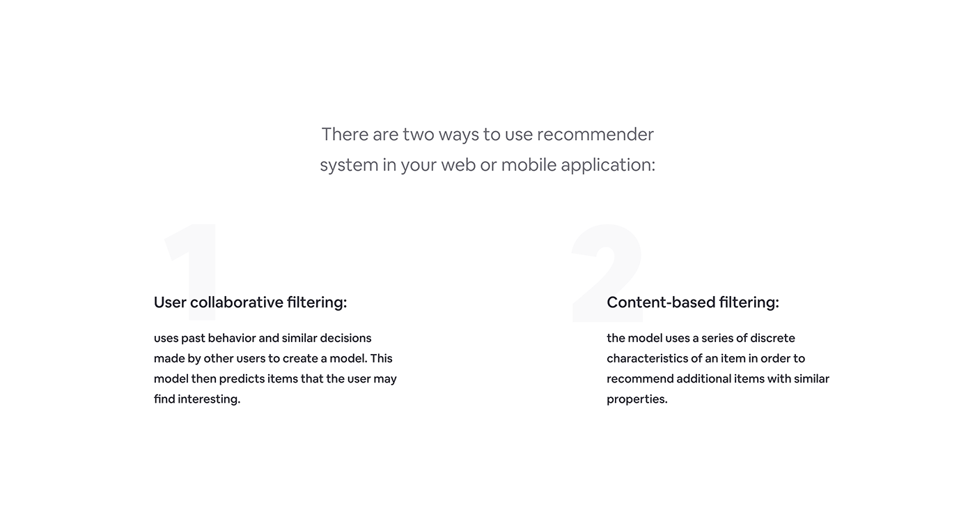 complete profile design Event login online recommender profile system event management ticket UX process web app
