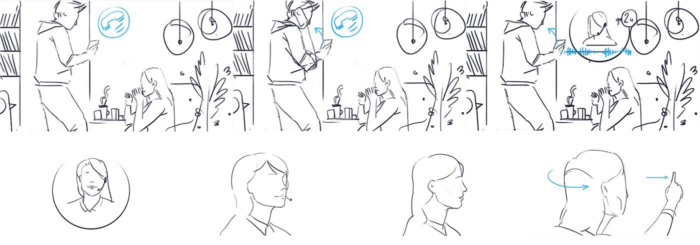 2D animation  infographics medicine medical 2д анимация медицина скорая помощь