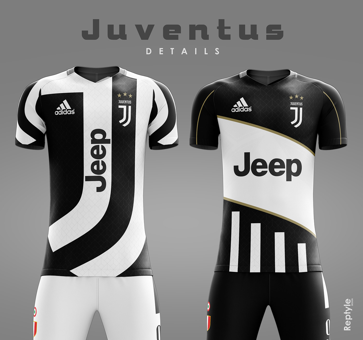 Juventus FC soccer kit concept on Behance