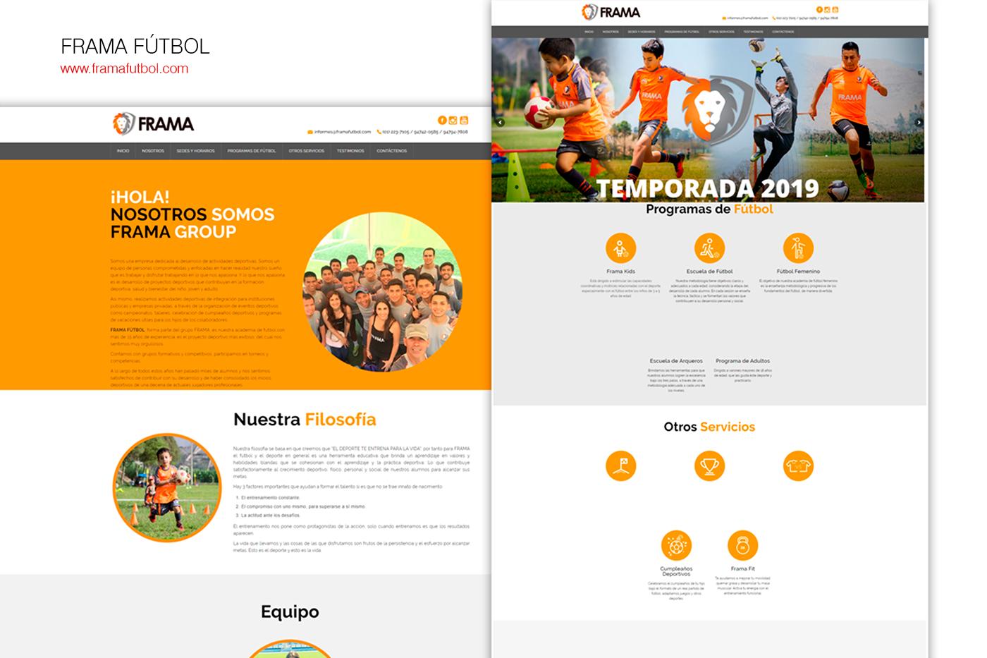 diseño de paginas Diseño web