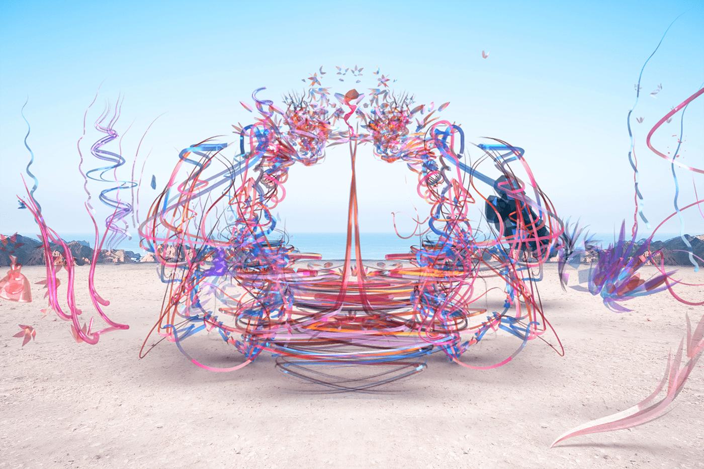 Art Installation Digital Art  dreams exploration imagination perception reality surrealism