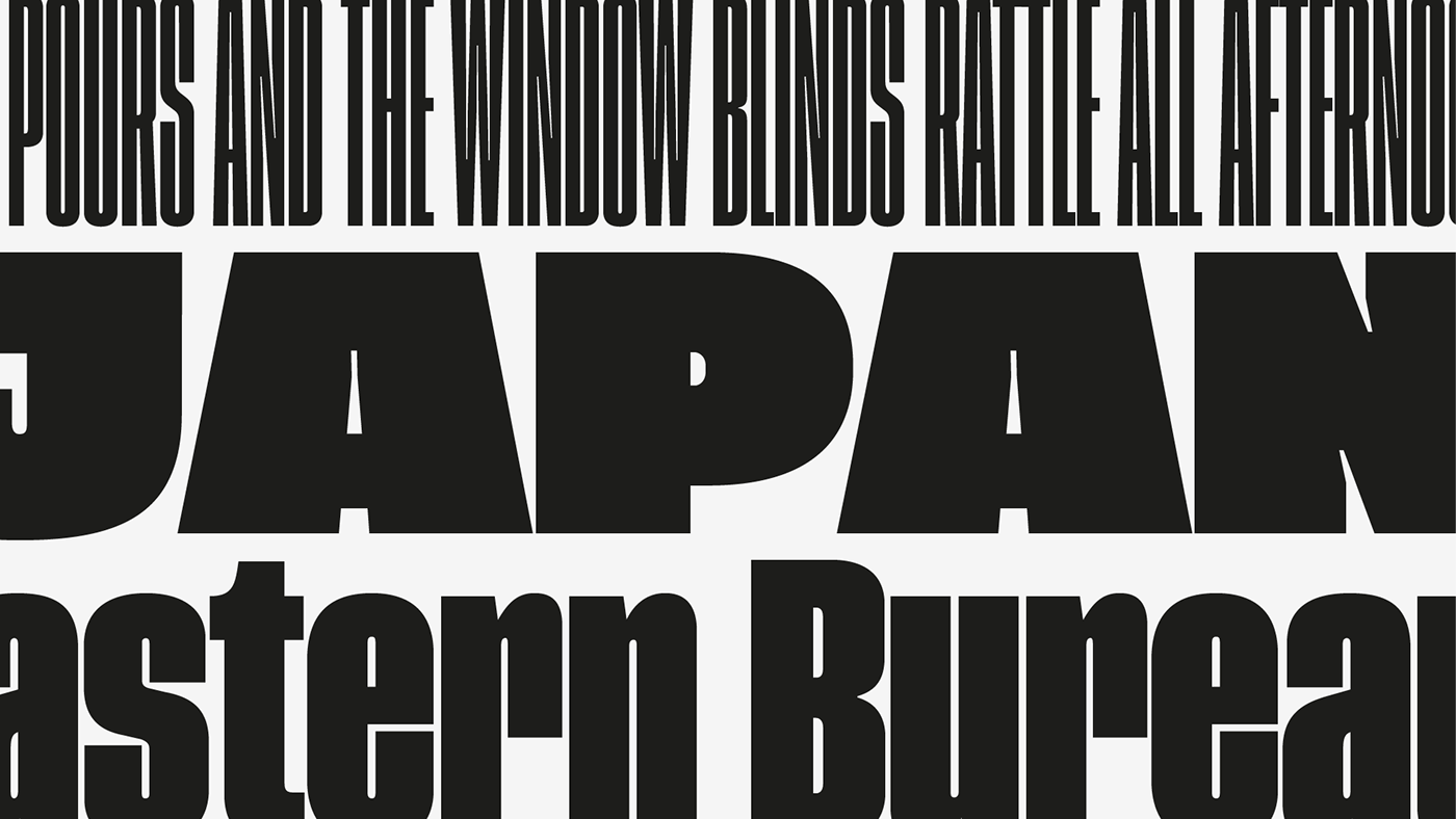 sans-serif Headline font condensed editorial grotesk grotesque Typeface poster magazine