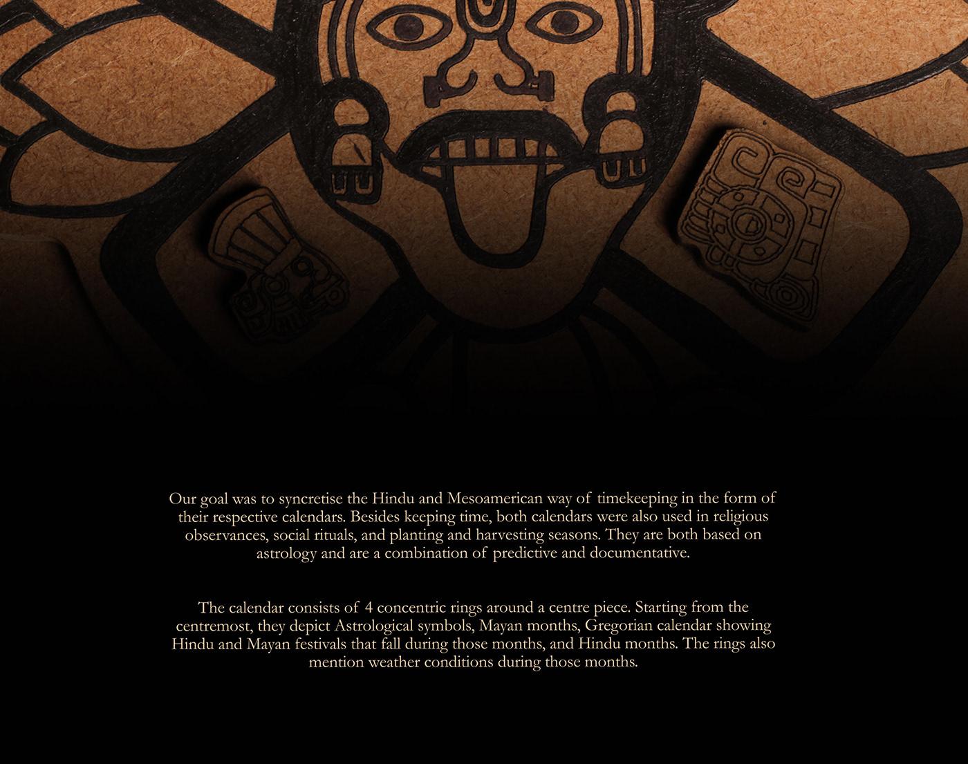 data visualization information design calendar astronomy timekeeping mayan Hindu transcultural