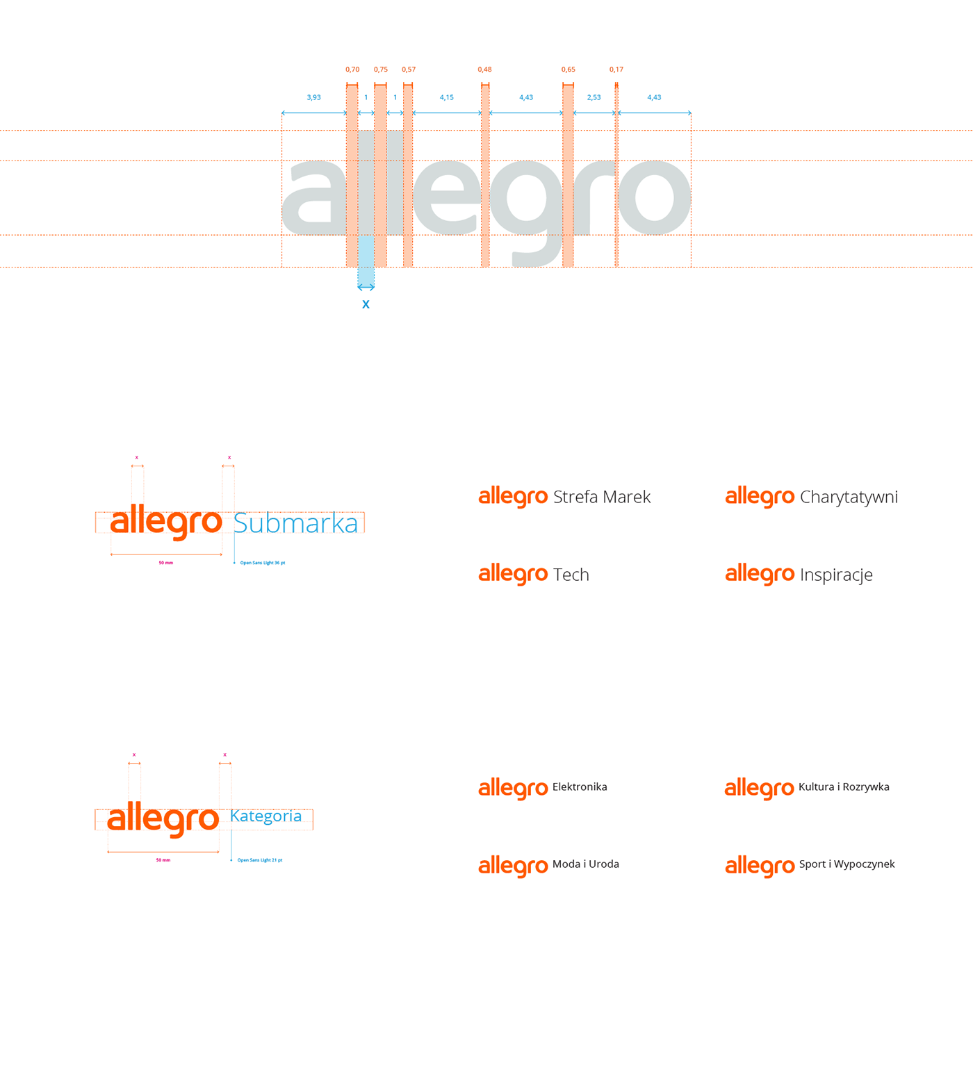 Allegro on Behance