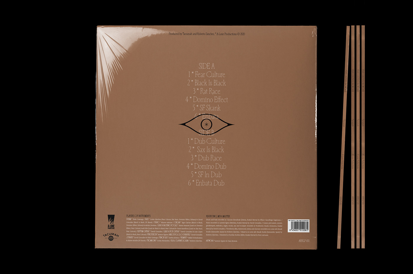 LP Design CD cover Music Branding Vinyl Cover