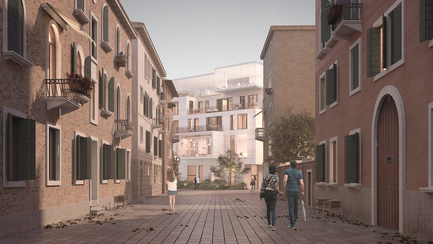 Housing in Venice on Behance
