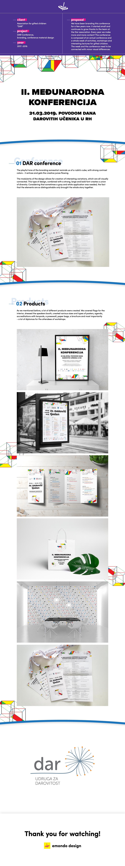 conference branding  product design  graphic design  design diploma poster brochure flag paper bag