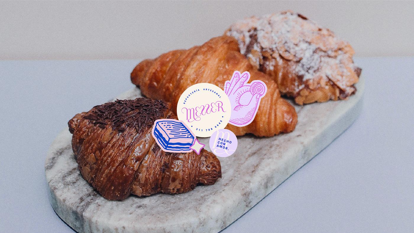 #Branding art direction  bakery illustration bakery logo cakeshop food branding identity illustrations logo ilustracion