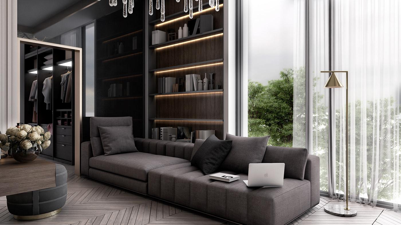 優質的44張臥室設計欣賞
