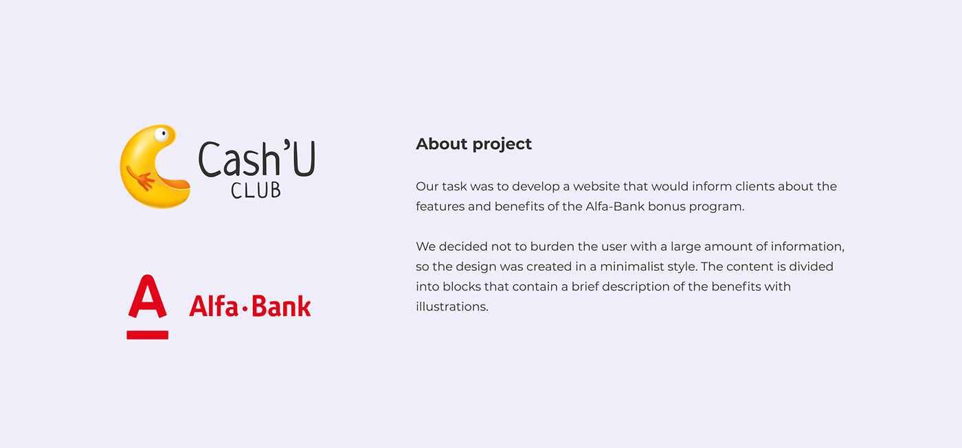 alfa bank Bank cashuclub development digital gifts news promotions UI/UX vis-a-vis
