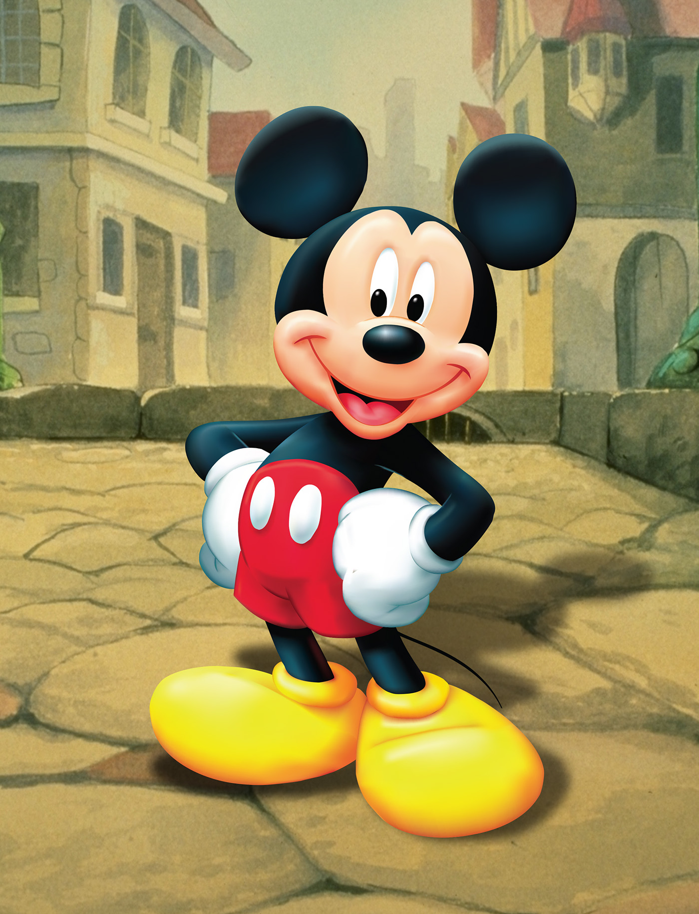 mickey mouse  behance