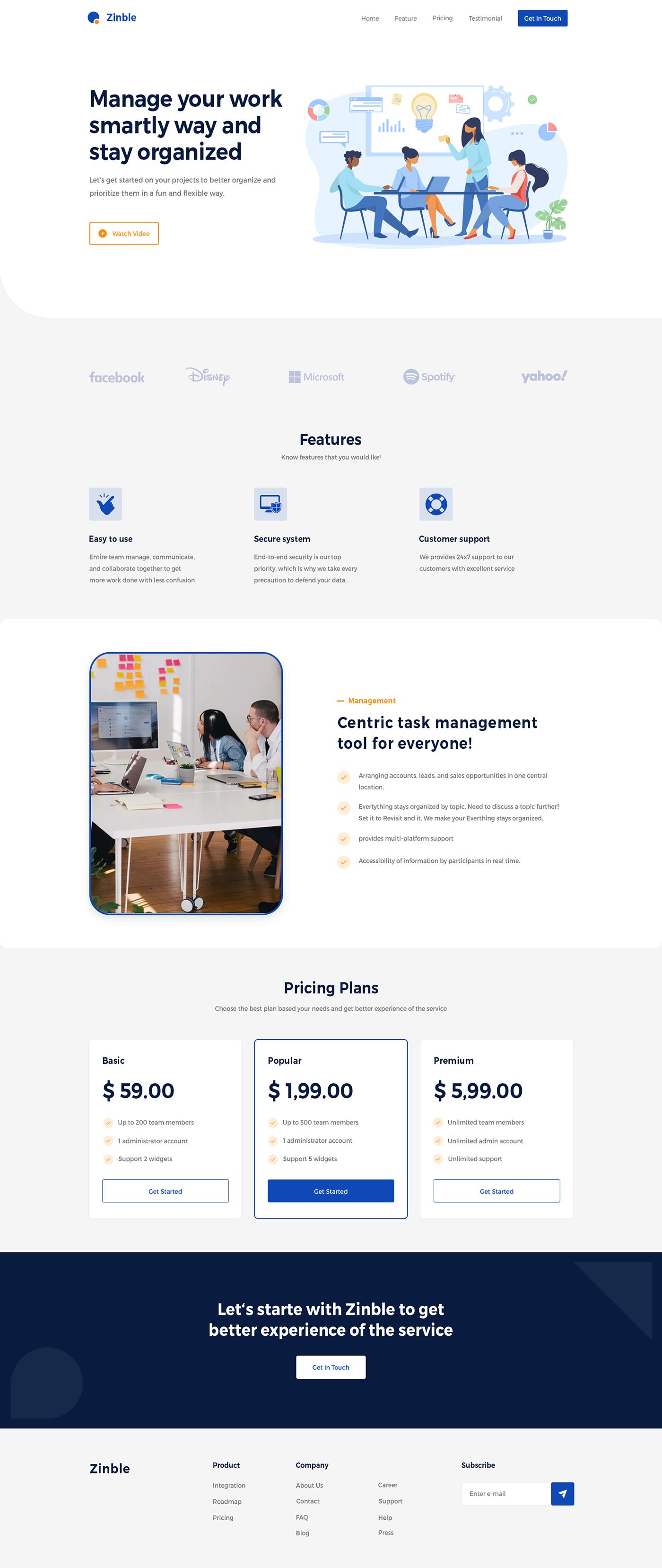 branding  Design Inspiration home page design landing page marketing page task management trending design