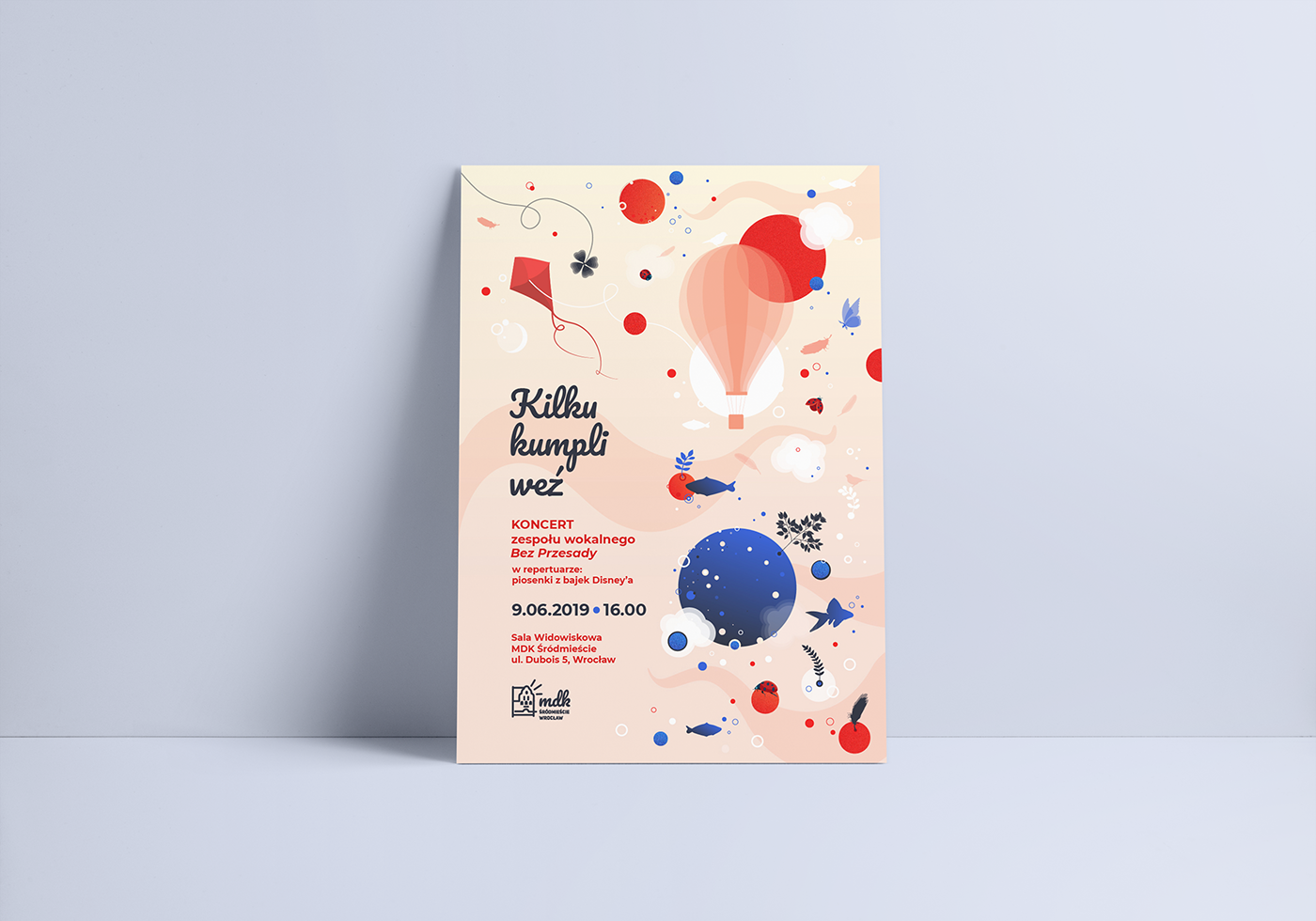 galaxy universe Planets flat design Invitation poster
