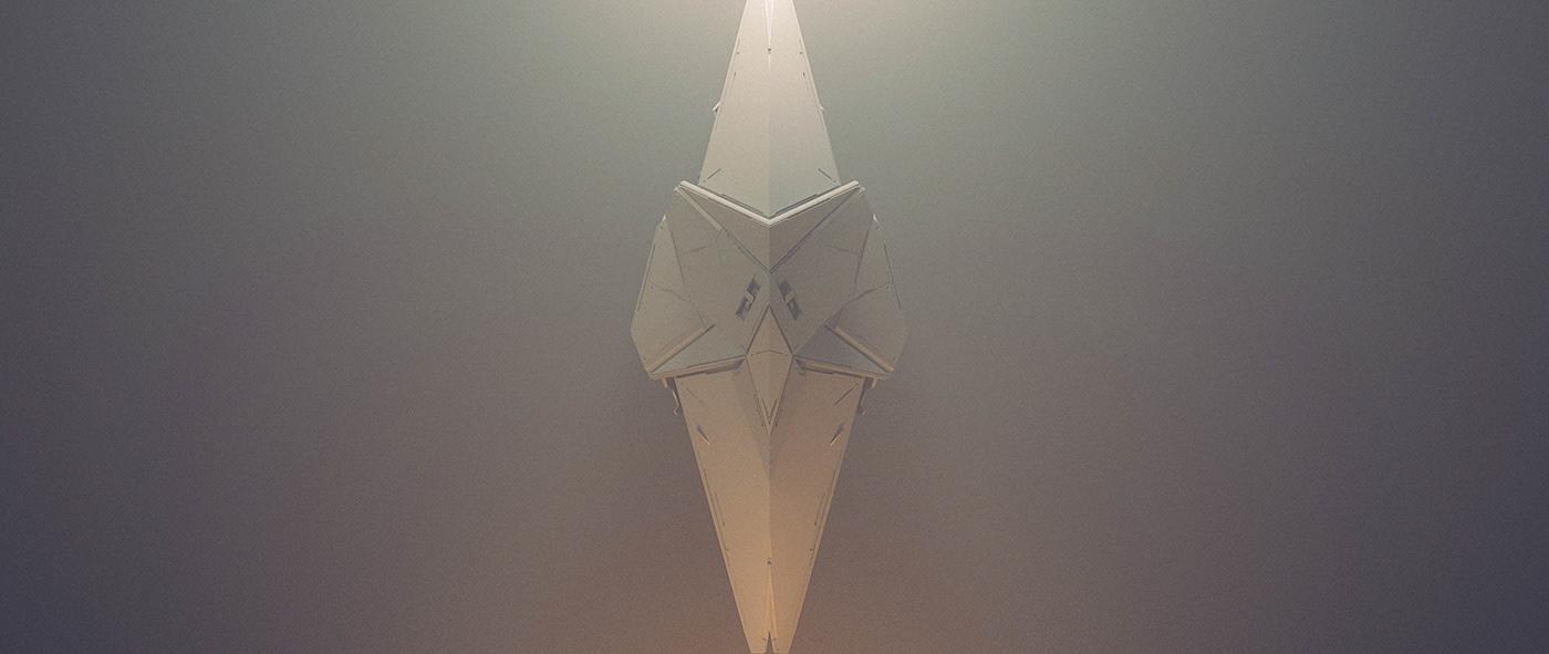 concept art spaceship desgin