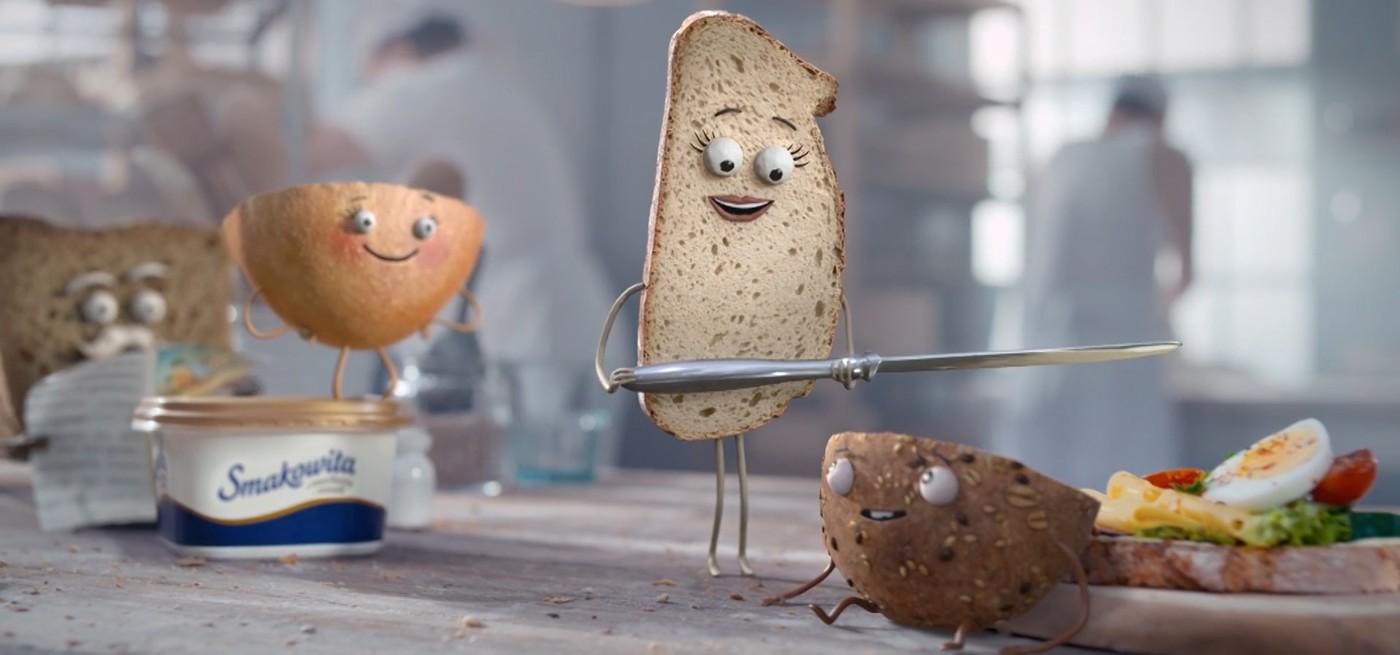 character animation animation  autodesk maya bread commercial