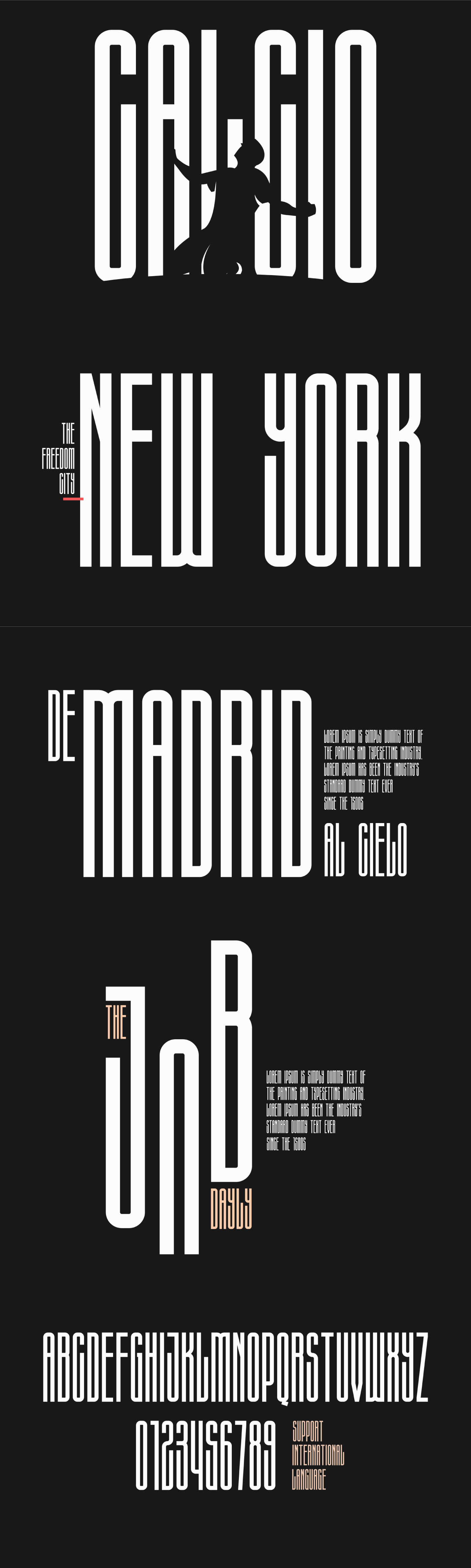 free Free font freebie free fonts condensed sans serif logo print International Title