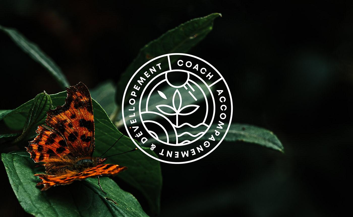 brand branding  Circle Logo Ecology Identity Design Label Labeldesign logo natural Nature