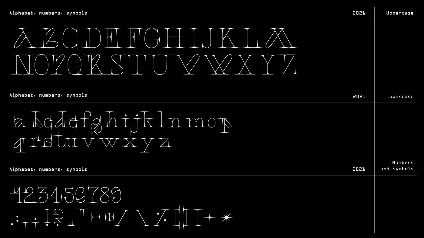 display font elegante typeface font natalia timea Serif Font Typeface typography   type