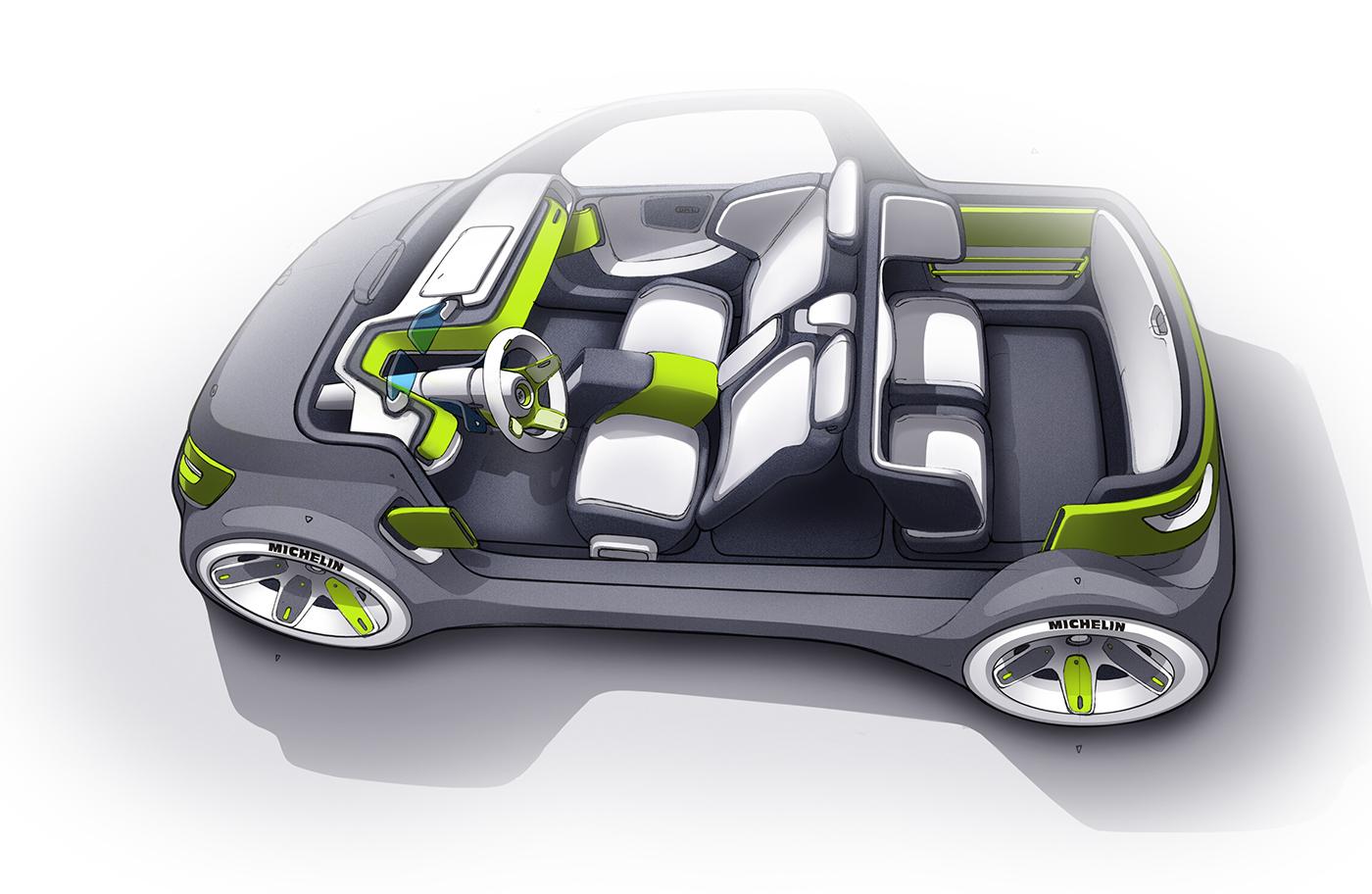 高質感的20張概念車草圖設計欣賞