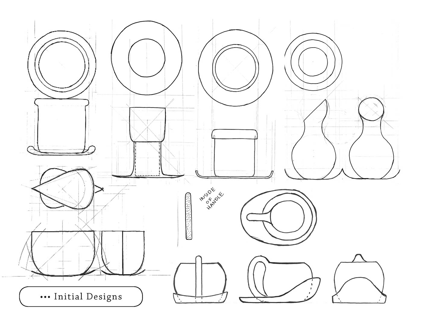 cup saucer sine foam models on behance ID Tech 5 to design a cup and saucer set embodying three words fort warmth longevity ge ia tech school of industrial design id 1011 fall 2016