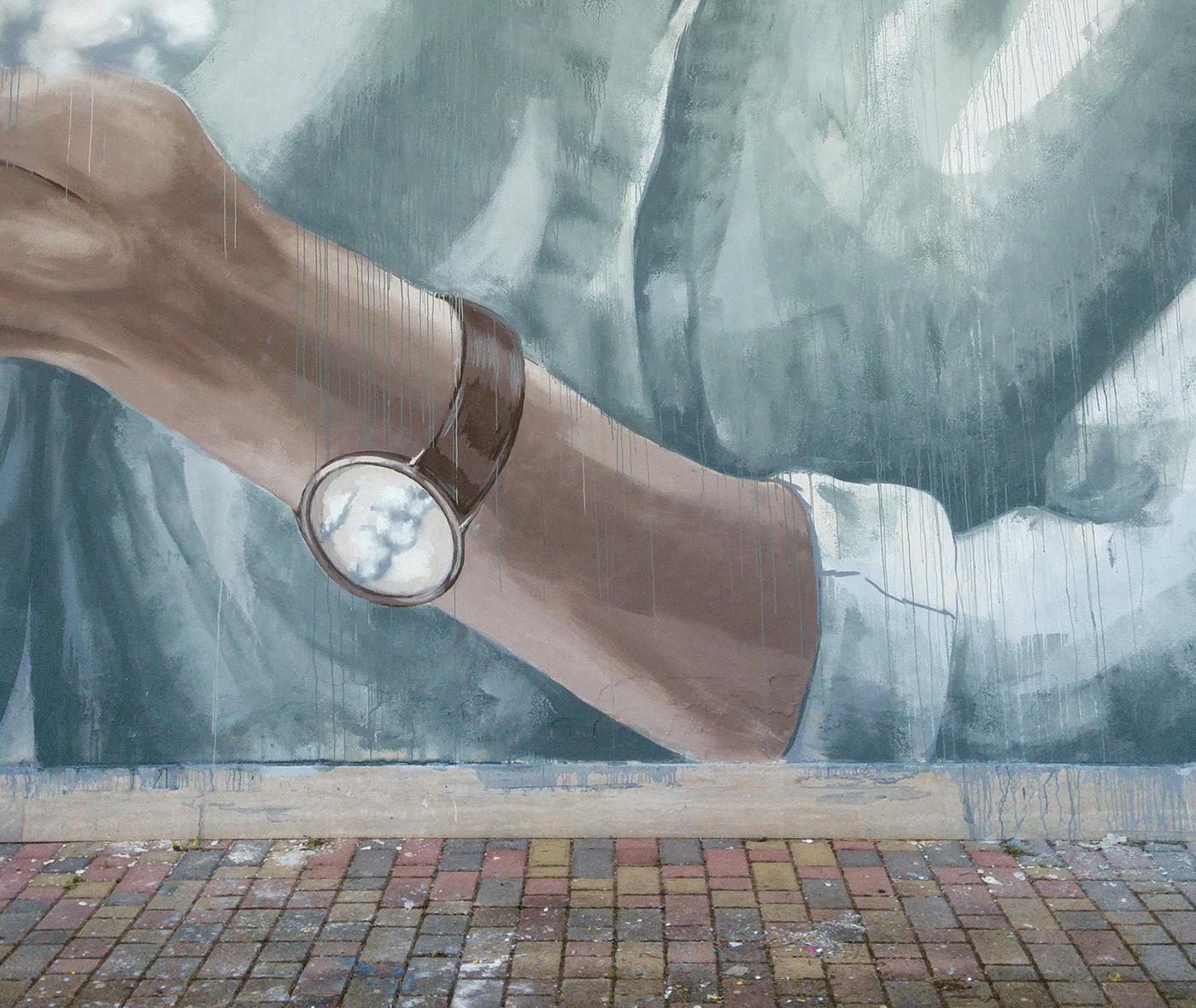 arte urbanio Bellas artes fine art Graffiti Mural mural art pintura pinturapainting streetart urban art