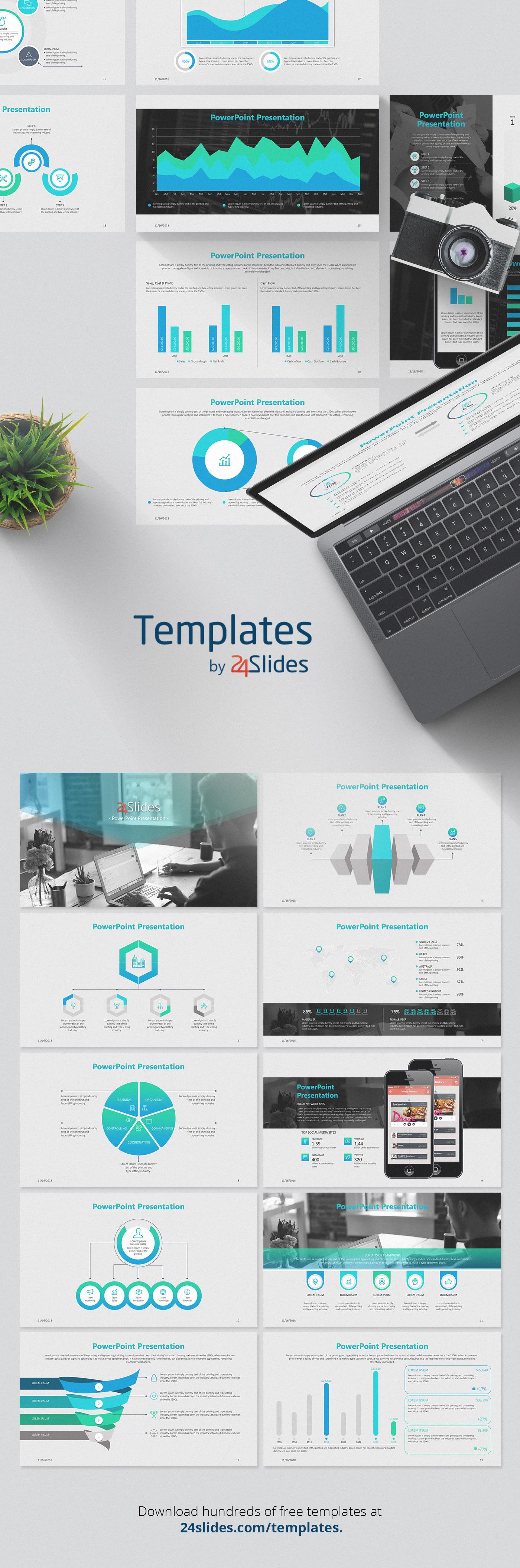 Business presentation download Powerpoint presentation corporate branding