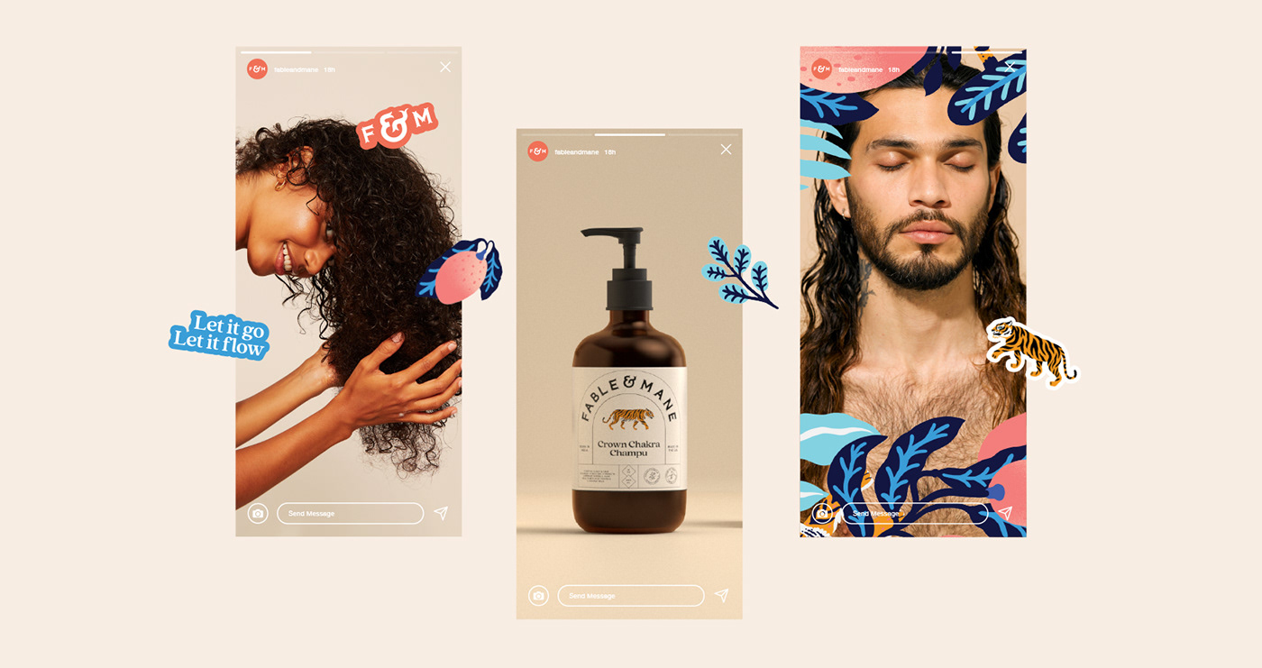 beauty branding  hair identity India oil Packaging product shampoo tiger