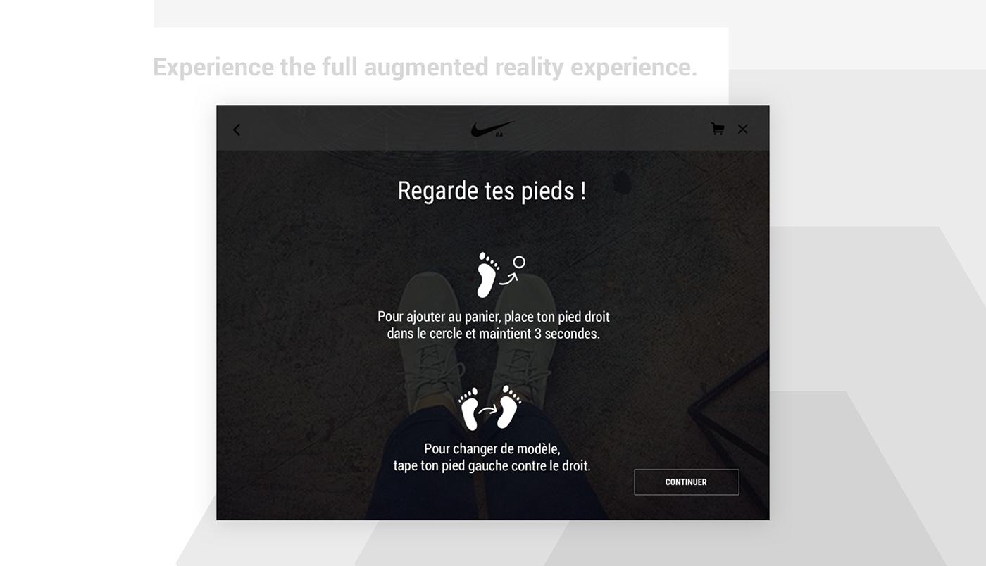 UI ux cx art direction  AR augmented reality Cross-Platform design visual design Interface