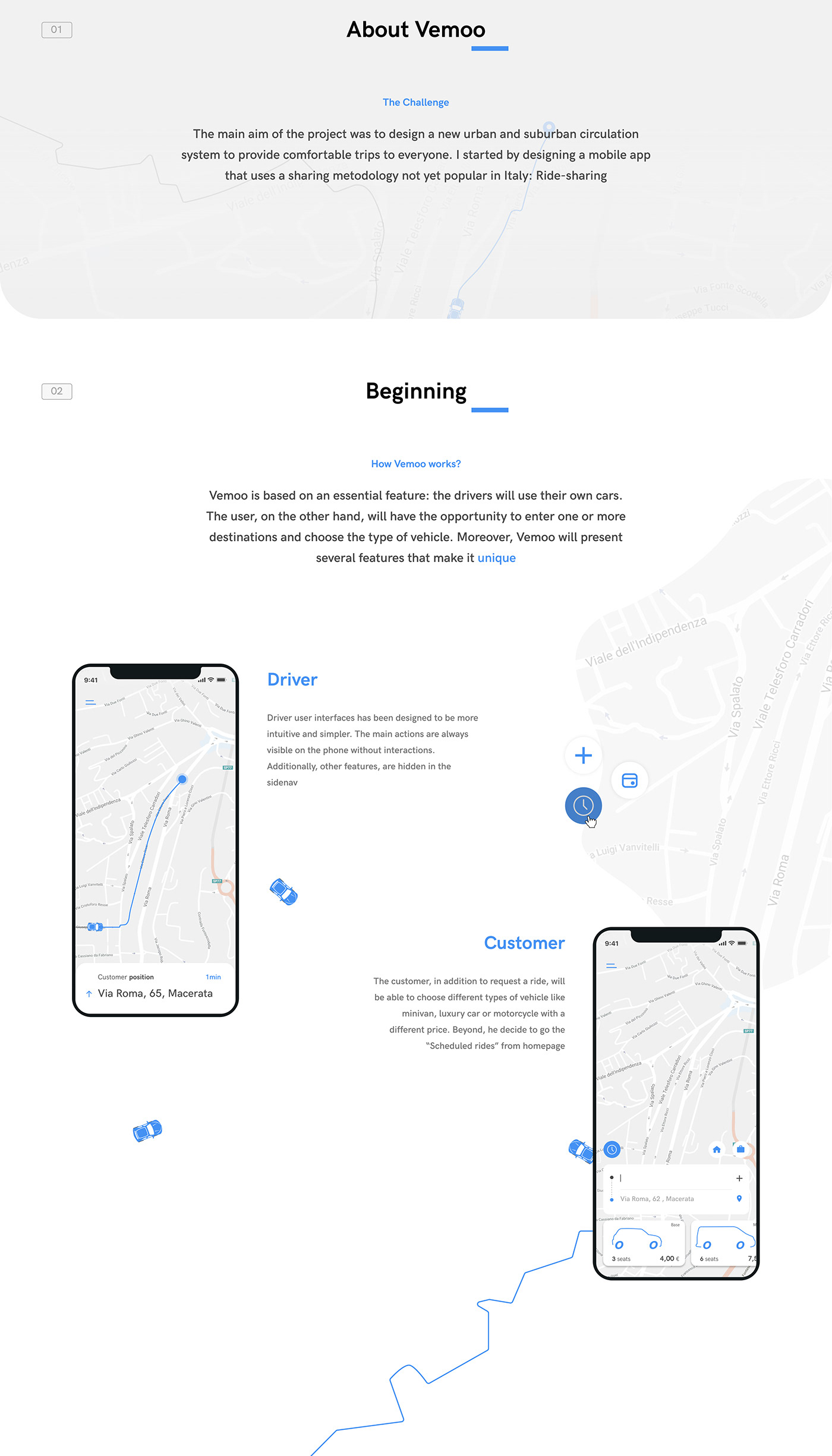 app design Experiecne interaction interfaces mobility money points Ridesharing UI