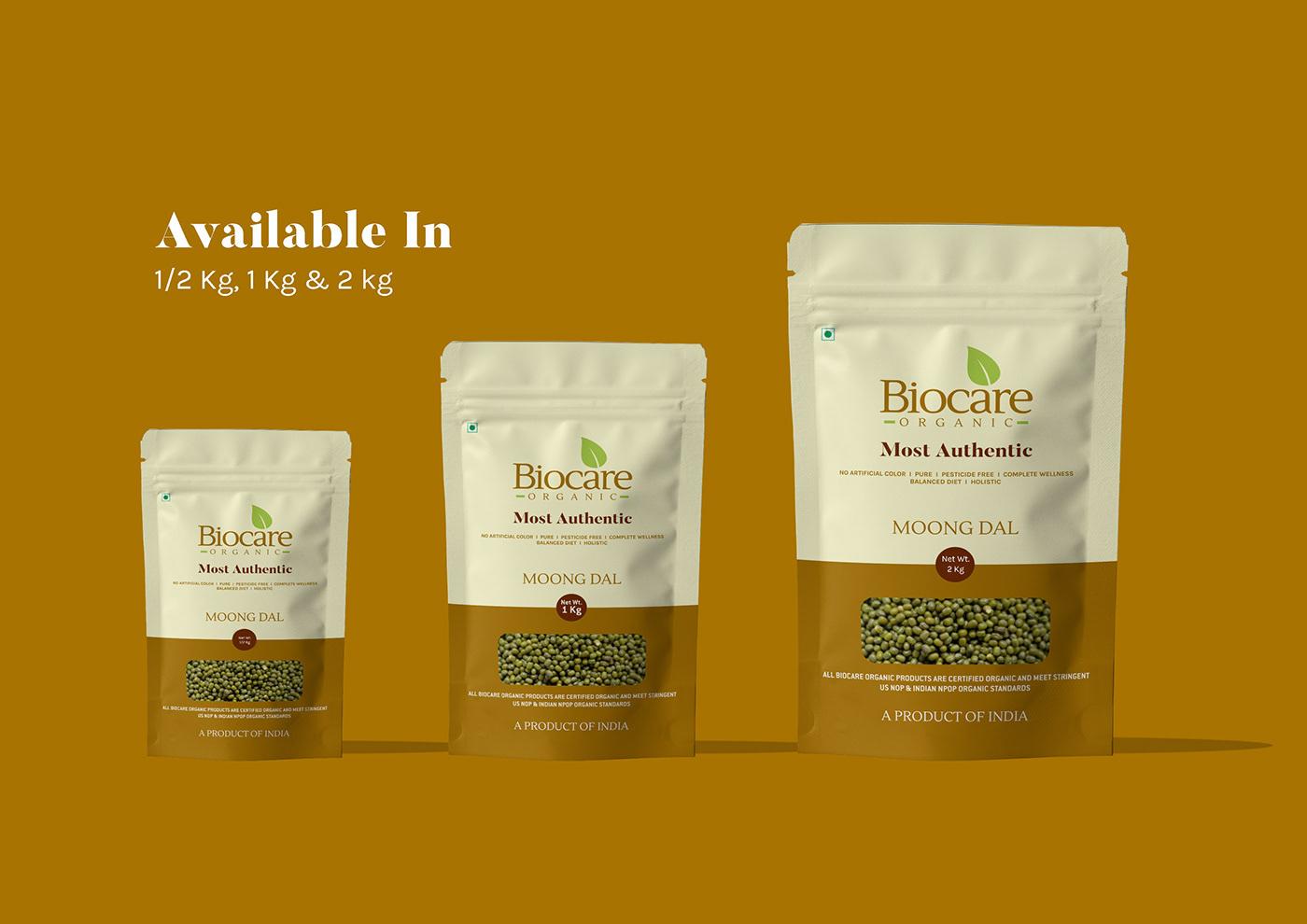 Food  Packaging branding  organic packaging design rebranding