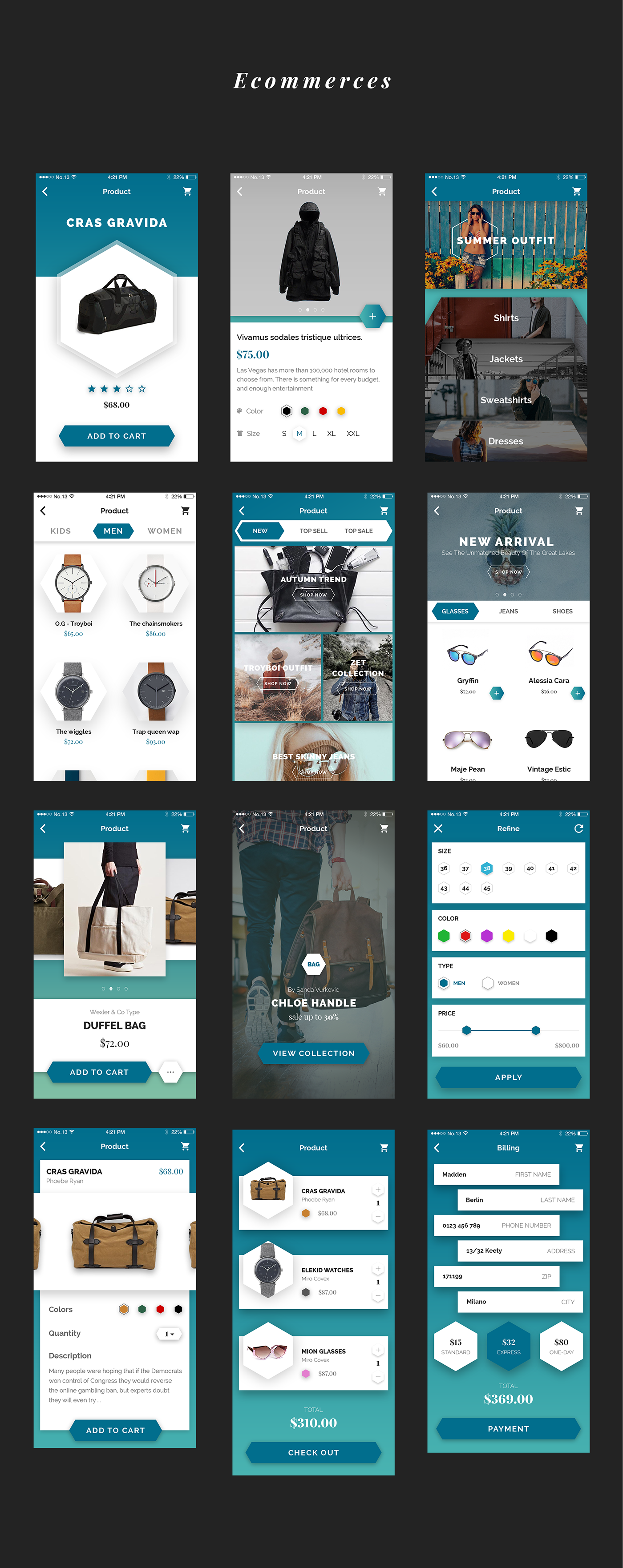 Jok Mobile UI Kit - 7