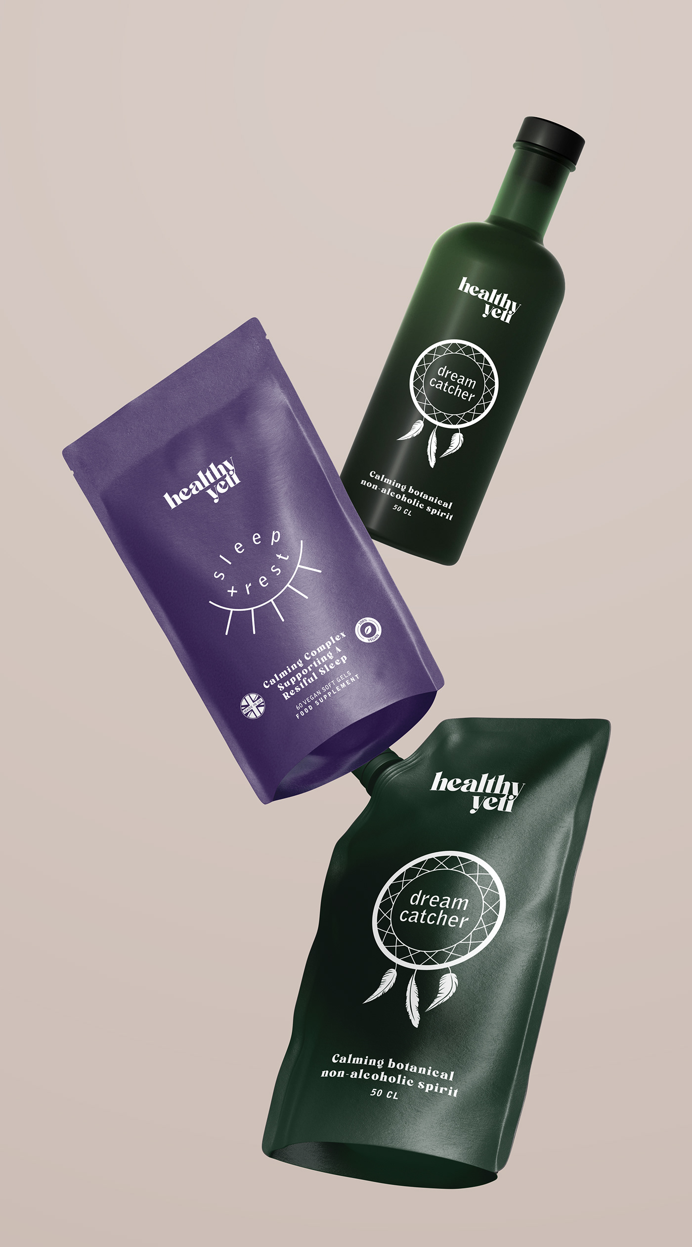 branding  Coffee food supplement London Packaging protein UK