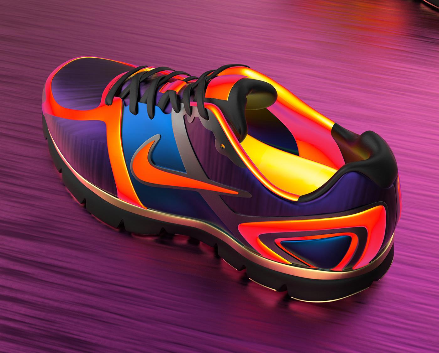 3d artist 3dshoe art direction  Art Director blender 3d instagram Nike product design  Product Rendering Sportswear