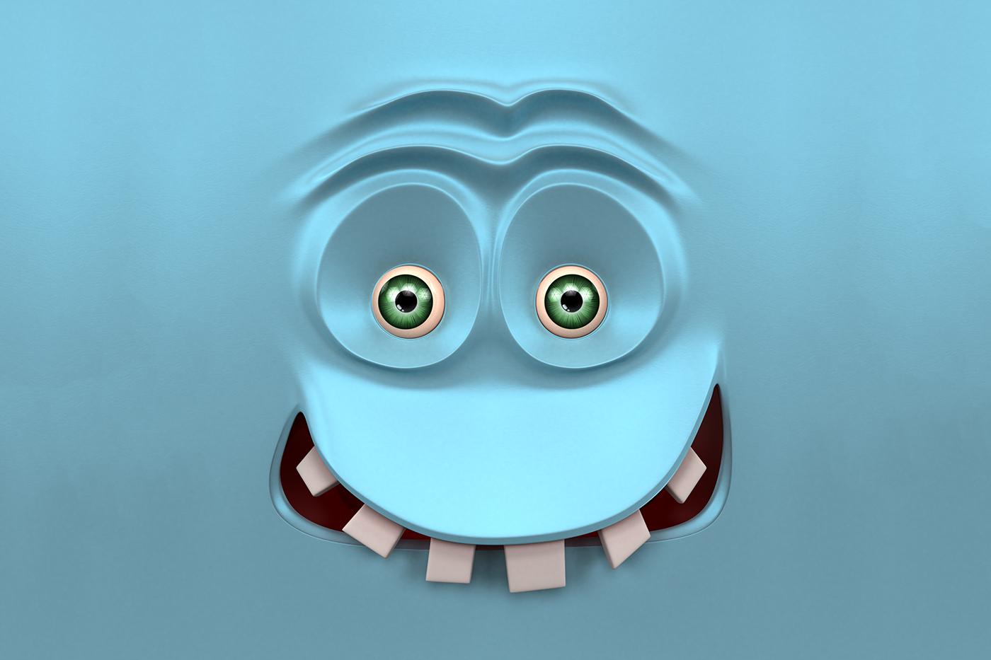 cartoon 3D expressions APA Member Pantone Canvas The National Design AIGA member SAIC