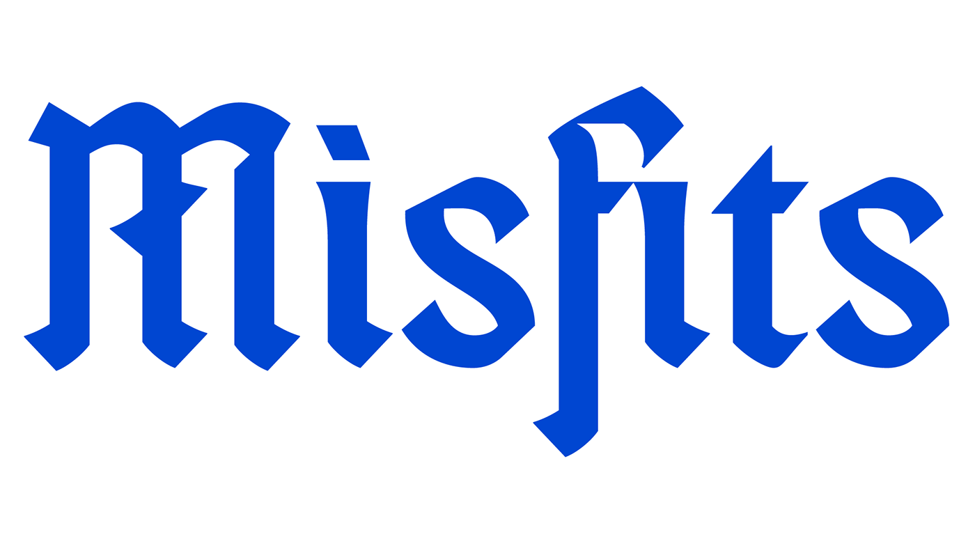 Fonts Misfits Blackletter On Behance